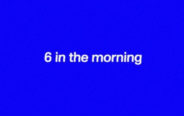 TENDER – 6 in the morning Lyrics