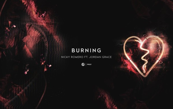 Nicky Romero & Jordan Grace - Burning lyrics