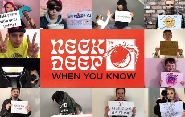Neck Deep - When You Know lyrics
